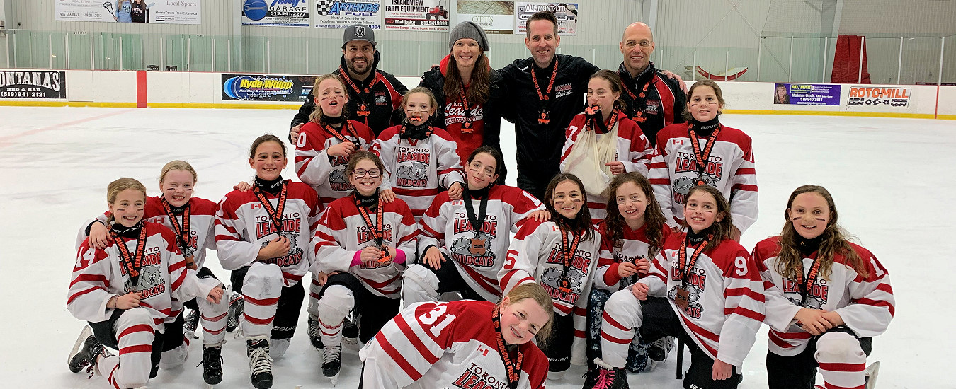 2020 Atom A (Hunter/Burkett) win Bronze at Orangeville Tournament