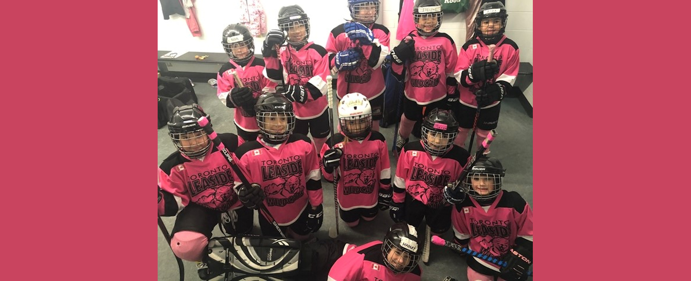 2020 Novice HL (Pink Bubblegum) finish as semi-finalists in Oakville Tournament